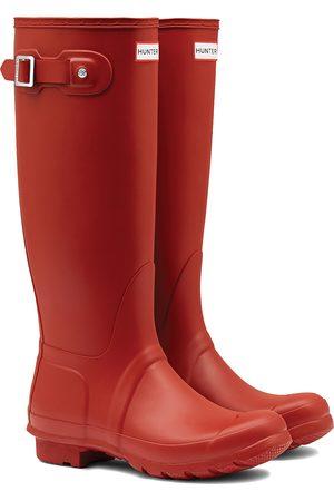 Hunter Women High Leg Boots - Original Tall s Wellies - Military