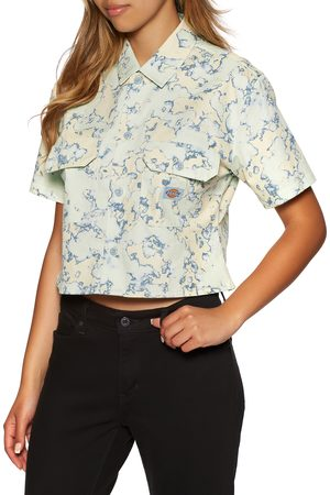 Dickies Sunburg s Short Sleeve Shirt - Fog