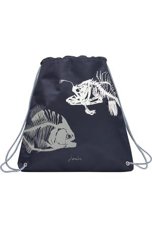 Joules Active Kids Gym Bag - Navy Fish