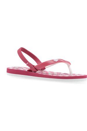 Roxy Girls Flip Flops - Tahiti Girls Flip Flops - Bright Rose
