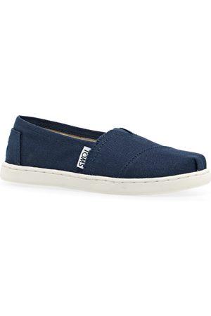 TOMS Casual Shoes - Alpargata Canvas 2 Kids Slip On Shoes - Navy