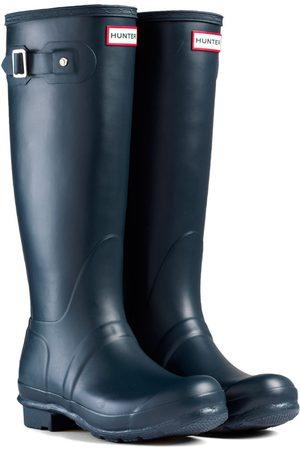 Hunter Women High Leg Boots - Original Tall s Wellies - Navy