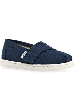 TOMS Mini Classics Kids Slip On Shoes - Navy
