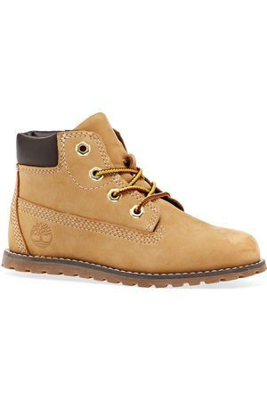 Timberland Toddler Pokey Pine 6in Side Zip Kids Boots - Wheat