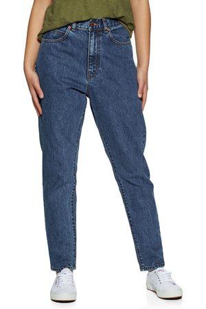 Dr Denim Nora Sky High Waist Mom s Jeans - Mid Retro
