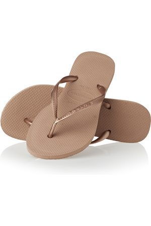 Havaianas Slim s Flip Flops - Rose