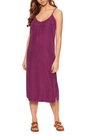Quiksilver Coral Spring Dress - Raspberry Radiance