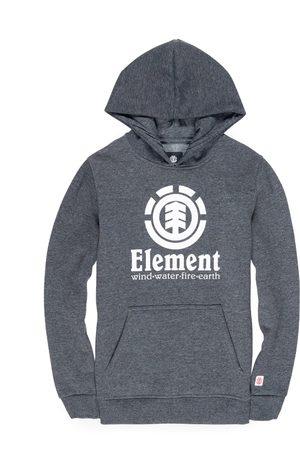 Element Vertical Boys Pullover Hoody - Charcoal Heathe