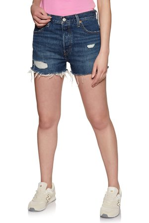 Levi's Women Shorts - 501 High Rise s Shorts - Lake