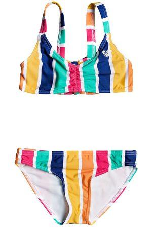 Roxy Maui Shade Girls Bikini - Monaco Pong Stripes