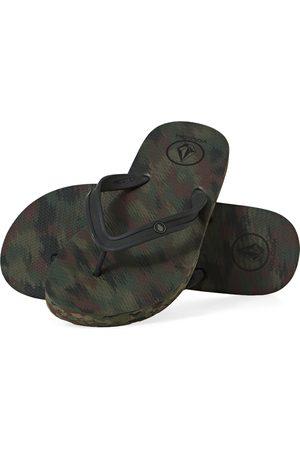 Volcom Rocker 2 Solid s Flip Flops - Dark Camo