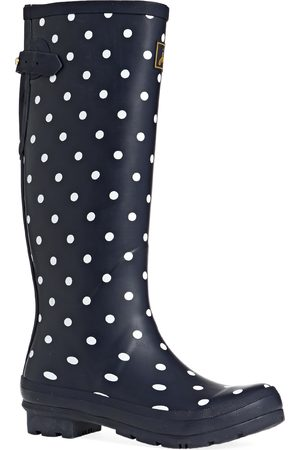 Joules Printed s Wellies - Navy Spot