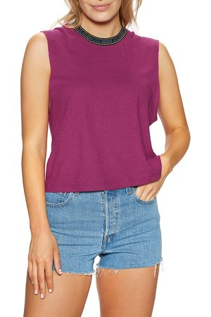 Quiksilver Central Land Extra s Tank Vest - Raspberry Radiance