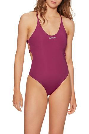 Hurley One & Only One Piece Swimsuit - Fireberry