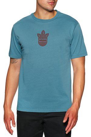 WAWWA Leaf Logo s Short Sleeve T-Shirt - Sky