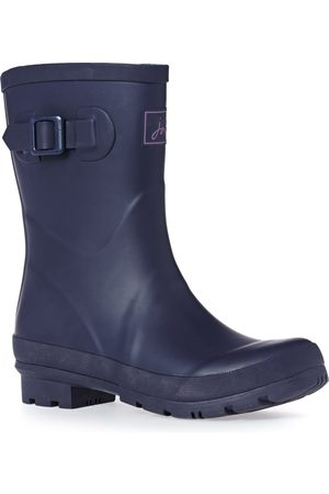 Joules Kelly Mid Height s Wellies - Navy