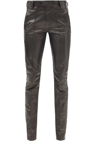 PETAR PETROV Glory Leather Trousers - Womens