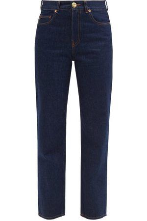 Blazé Milano Narido Paso Straight-leg Jeans - Womens - Indigo