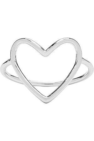 Pura Vida Big Heart Band Ring