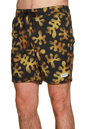 Banks Journal Barrier Elastic s Swim Shorts - Dirty