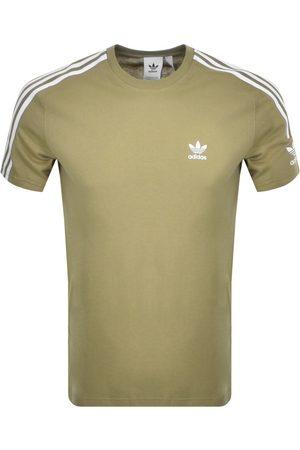 adidas Tech 3 Stripe T Shirt