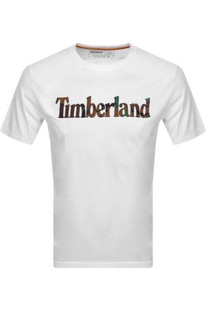 Timberland Camo Logo T Shirt