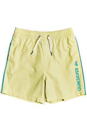 Quiksilver Boys Swim Shorts - Vert 14 Boys Swim Shorts - Charlock