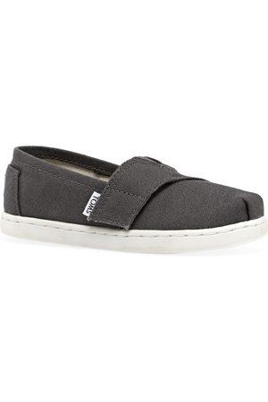 Toms Casual Shoes - Mini Classics Kids Slip On Shoes - Ash