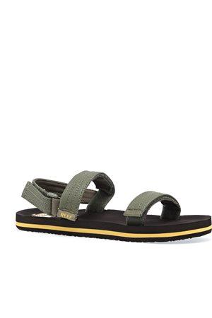 Reef Little Ahi Convertible Kids Sandals - Olive