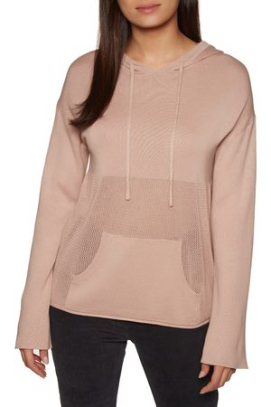SWELL Sunset Knit s Pullover Hoody - Blush