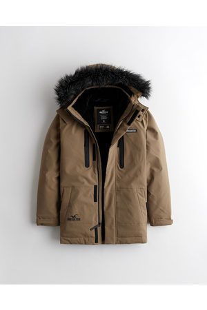 Hollister Co. Faux Fur-Lined All-Weather Parka