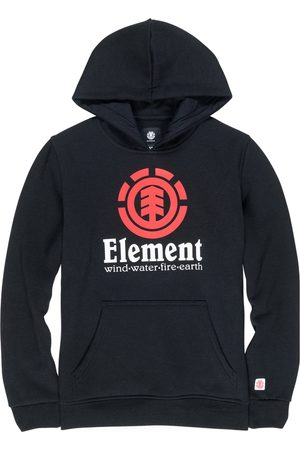 Element Vertical Boys Pullover Hoody - Flint