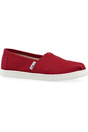 Toms Classic Youth Kids Slip On Shoes - Youth Canvas