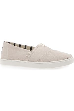 TOMS Women Casual Shoes - Canvas Cupsole s Slip On Shoes - Natural