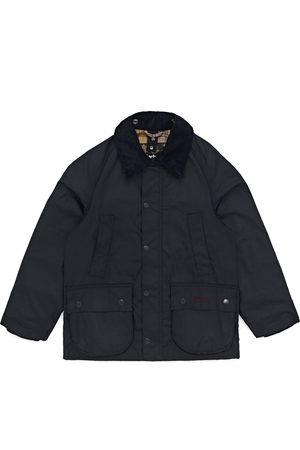 Barbour Classic Bedale Kids Wax Jacket - Navy
