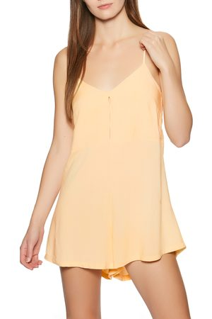 RVCA Woodstock s Playsuit - Apricot