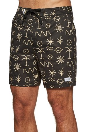 Banks Journal Sun Forest s Boardshorts - Dirty