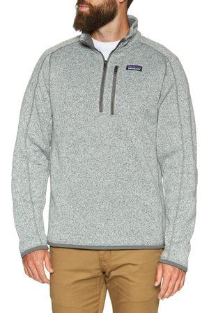 Patagonia Men Fleece Jackets - Better Sweater Quarter Zip s Fleece - Stonewash