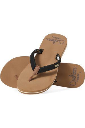 Reef Women Flip Flops - Cushion Sands s Flip Flops - Tan