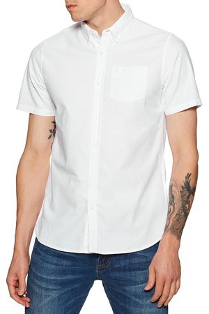 Superdry Classic University Oxford s Short Sleeve Shirt - Optic