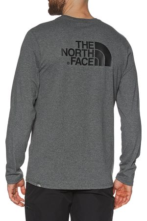 The North Face North Face Easy s Long Sleeve T-Shirt - TNF Medium Heather