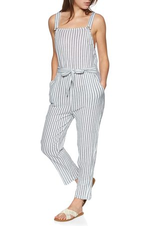 Roxy Another You s Jumpsuit - Mood Indigo Lagos Stripes
