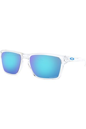 Oakley Sylas Prizm s Sunglasses - Polished Clear ~ Sapphire