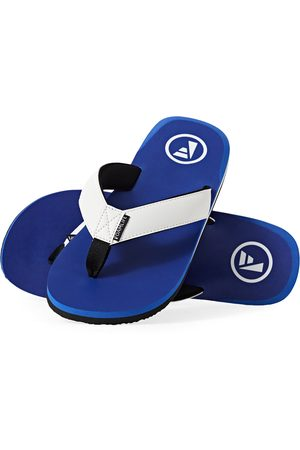 FoamLife Men Flip Flops - Traa s Flip Flops - Cobalt