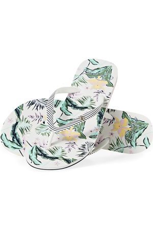 Roxy Portofino s Flip Flops - Leaf