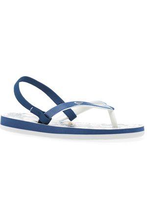 Roxy Girls Flip Flops - Pebbles Vip Girls Flip Flops - Navy