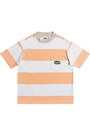 Quiksilver Full Charge Boys Short Sleeve T-Shirt - Apricot Full Charge