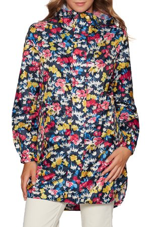 Joules Women Jackets - Golightly s Waterproof Jacket - Navy Floral