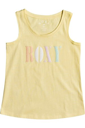Roxy There Is Life Girls Tank Vest - Pale Banana