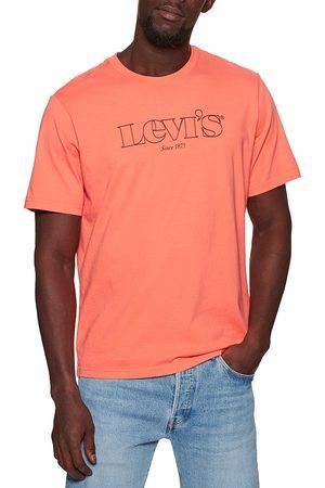 Levi's Logo s Short Sleeve T-Shirt - Mv Ssnl Logo Outline Coral Quartz